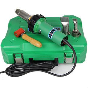 Промышленный ручной термофен TOPLINK W-3 для сварки горячим воздухом. Сварочный фен для линолеума. Фен для ПВХ мембраны