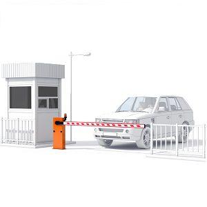 Обустройство паркинга: полуавтоматическая парковка Еврокласса